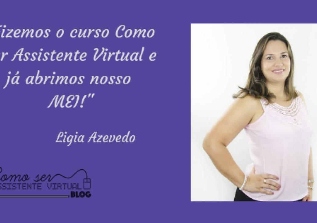 Fizemos o curso Como Ser Assistente Virtual e já abrimos nosso MEI!