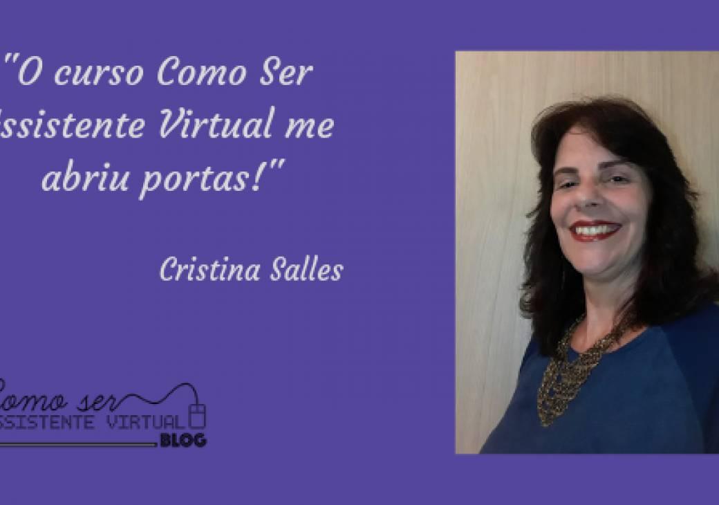 O curso Como Ser Assistente Virtual me abriu portas!