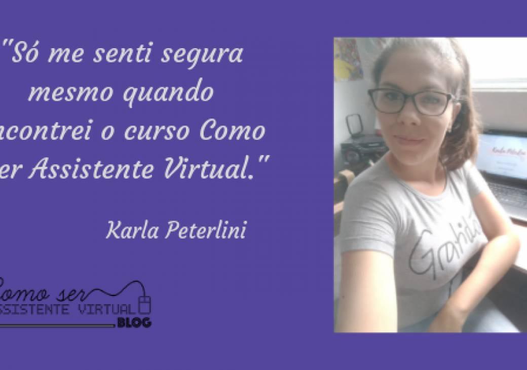 Só me senti segura mesmo quando encontrei o curso Como Ser Assistente Virtual.